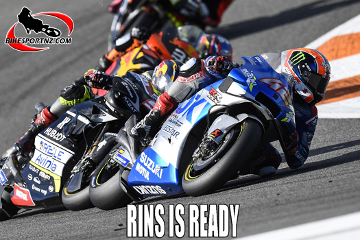 Alex Rins looking ahead to MotoGP start