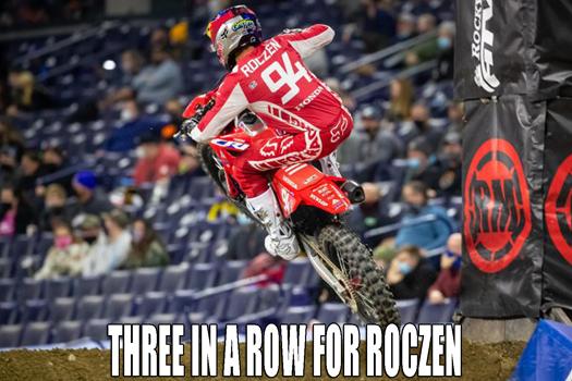 Ken Roczen stretches his lead further