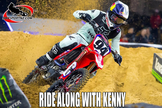 Ride along with Ken Roczen at Arlington