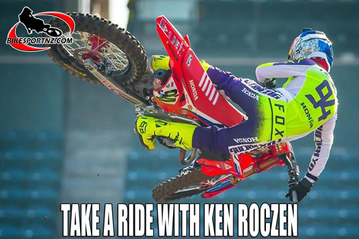 Take a helmet-cam ride with Ken Roczen