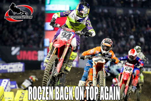 Roczen back on top again in the sport