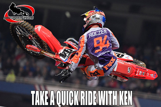 Take a GoPro ride with Ken Roczen