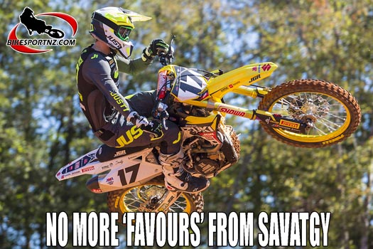 Joey Savatgy joins Suzuki Factory Team