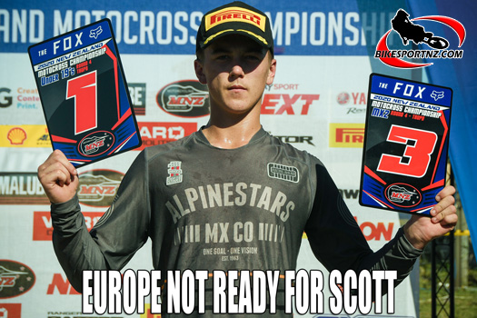 James Scott raring to go hard again in Europe