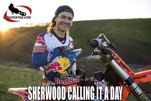 Levi Sherwood set to retire at Auckland supercross