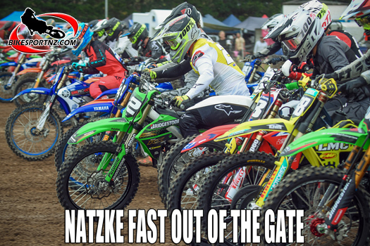 Natzke best-performed rider at MX Fest 2020