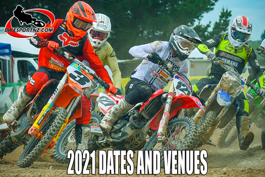 Dates and venues for 2021 NZ MX Champs