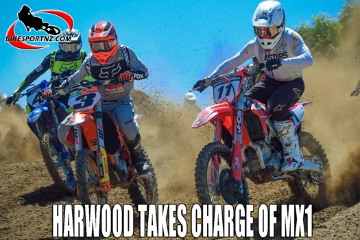 Hamish Harwood rules in MX1 class