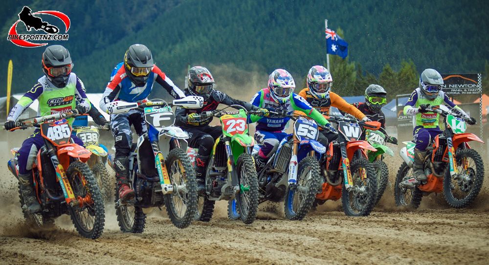 The MX2 class was heavy with talent at Rotorua
