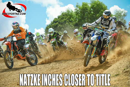 Natzke closer to winning NZ MX2 crown