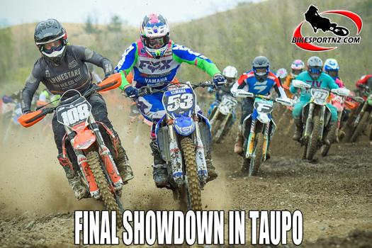 Taupo hosts New Zealand's MX elite