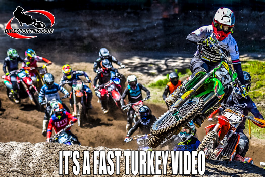 Fast Turkey Video from 2019 Honda Whakatane Summercross