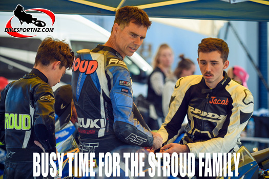 Busy time for Stroud family at Hampton Downs