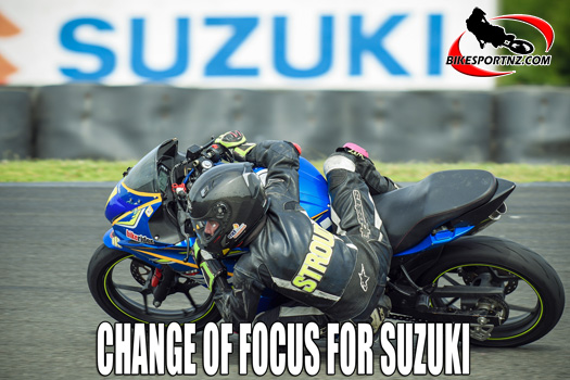 Change of focus for Suzuki