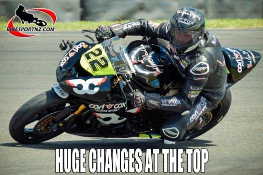 New leaders in NZ superbikes   Bikesportnz