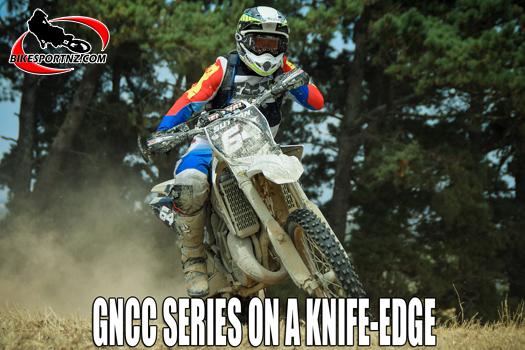 NZ GNCC series on a knife-edge