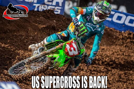 US Supercross Champs resume in Utah