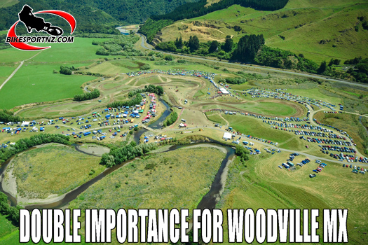 Double the significance for Woodville MX in 2021