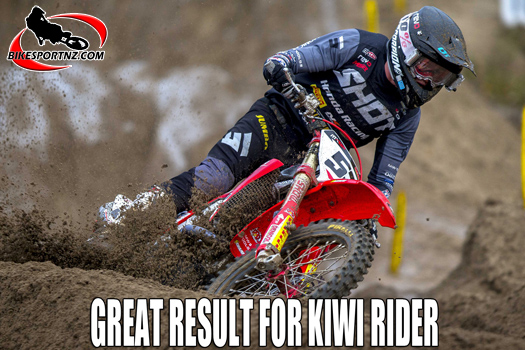 NZ rider Walsh scores good MXGP points again