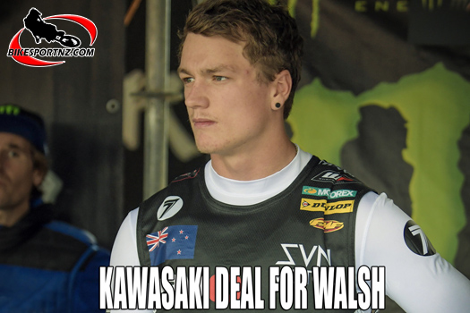 NZ rider Dylan Walsh back to Europe on a Kawasaki