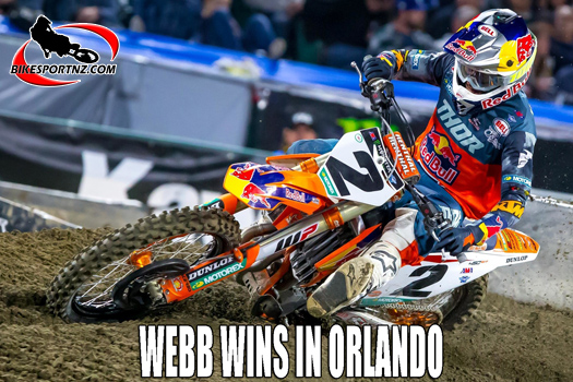 Cooper Webb wins Orlando Supercross