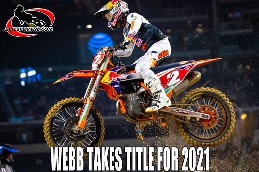Cooper Webb takes US Supercross title for 2021