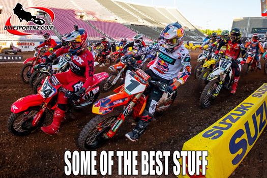 Some of the best moments from the 2020 SX season