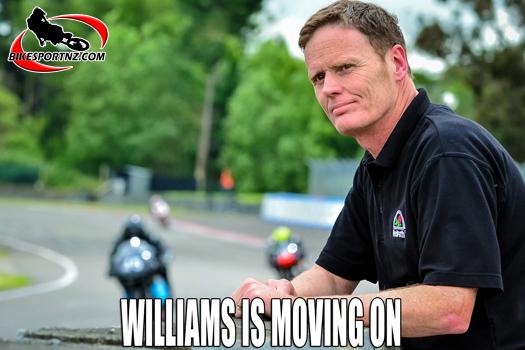 Williams hands over FIM Oceania role to Doyle