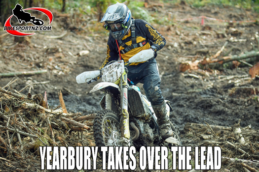 Dylan Yearbury zips to the top of the enduro standings