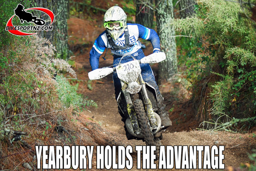 Dylan Yearbury leads the way in Dirt Guide series
