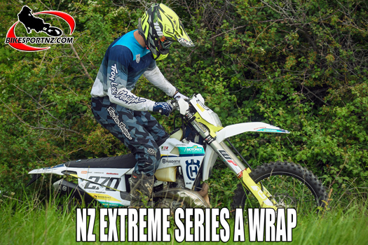 Husqvarna's Yearbury wins NZ Extreme Off-Road Championships