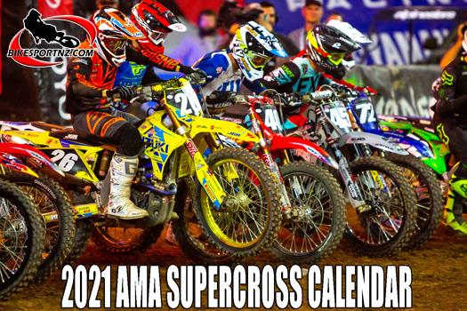 2021 AMA Supercross calendar announced