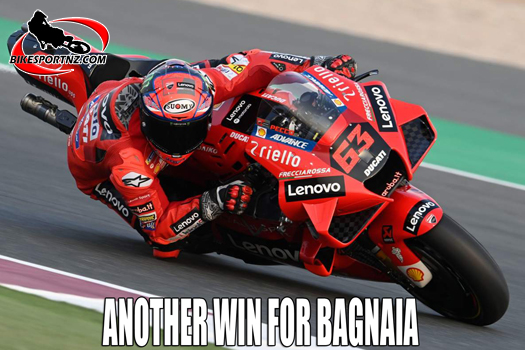 Another MotoGP win for Bagnaia