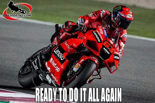 MotoGP round two is this weekend