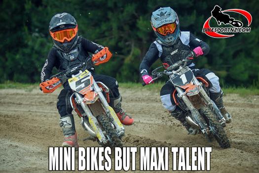 NZ Mini Motocross Champs a real blast