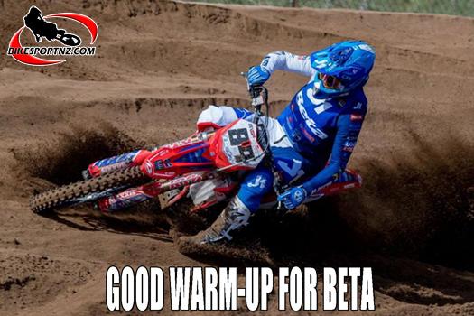 Good start for new Beta motocross team