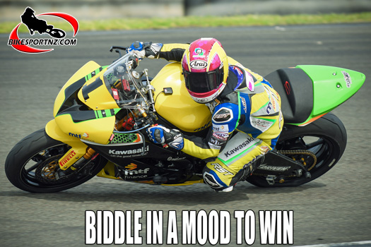 Avalon Biddle determined to get campaign back on track