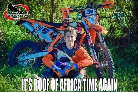 Chris Birch tackling The Roof of Africa again this year