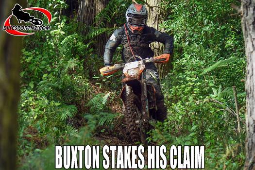 Tom Buxton wins round one of enduro series