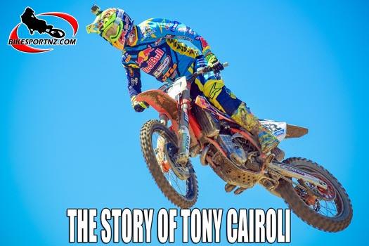 Tony Cairoli and his motocross world