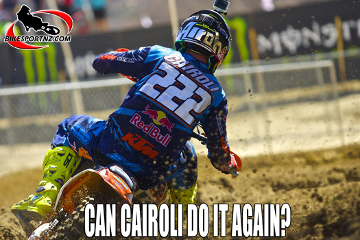 Round three of MXGP in Italy this weekend