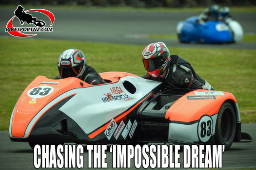Dennis Charlett chasing the 'impossible dream'