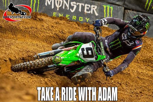 Get on board with Kawasaki's Adam Cianciarulo