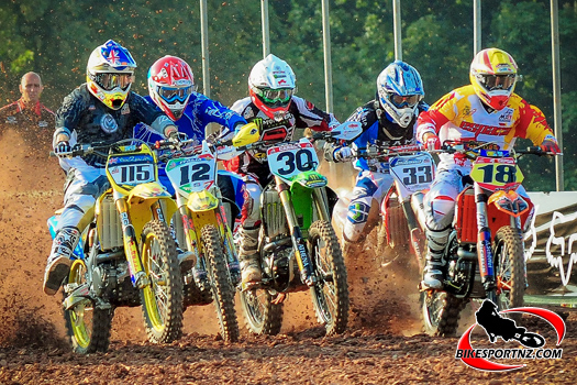 New Zealand heads into battle against the big boys of motocross