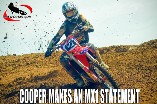 Cody Cooper on form at King of the Mountain MX