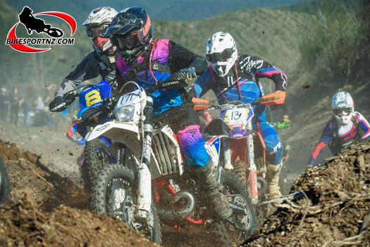 Sean Clarke knows a thing or two about running dirt bike races