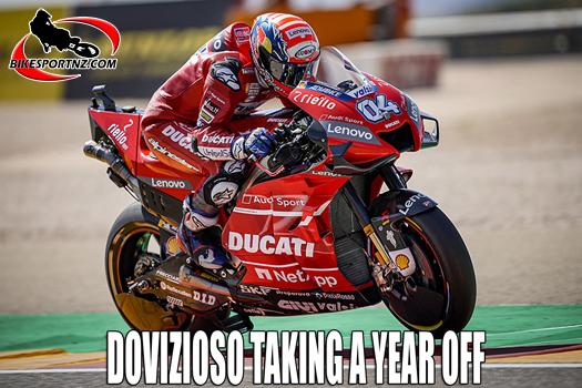 Andrea Dovizioso taking a year off