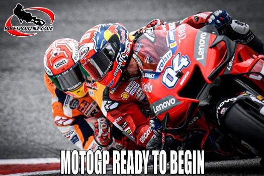 MotoGP ready to launch its 2020 season