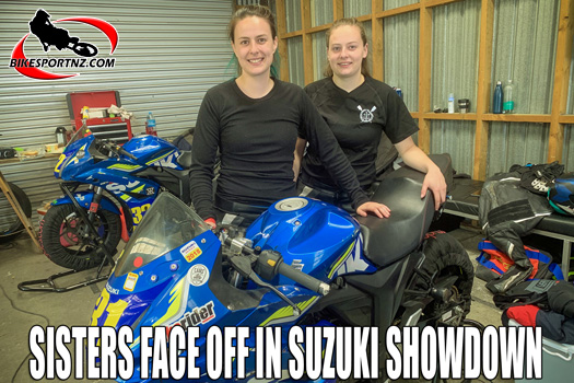 Dowman sisters face off on the race track