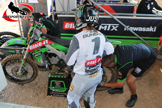 NZ's Courtney Duncan leads the motocross world champs